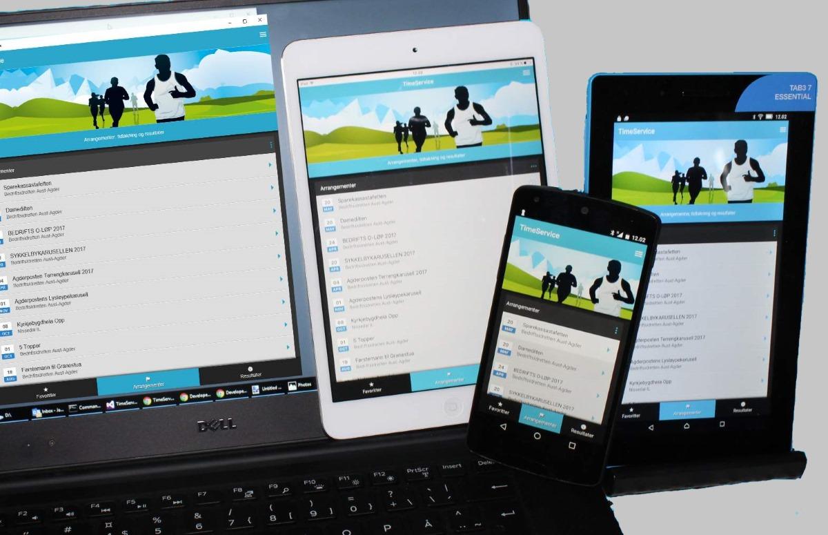 sjekke app Arendal